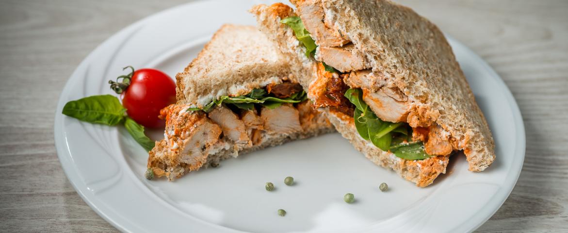 Chicken & Spinach Sandwich