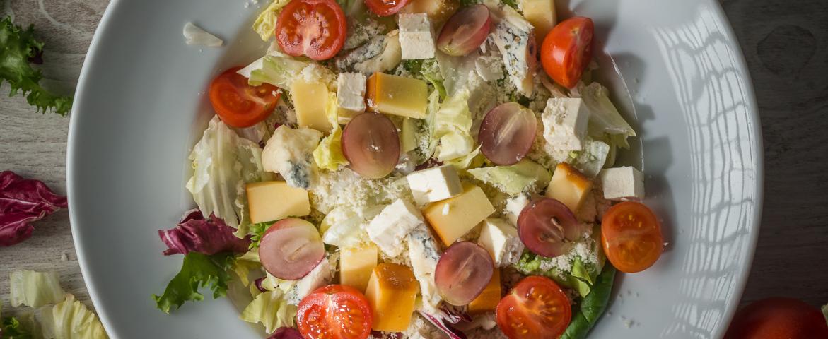 Salata quattro formaggi
