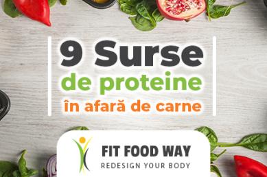 9 surse de proteine în afară de carne