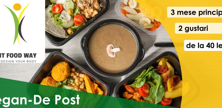 De Ce E Meniul Vegan De La Fit Food Way Ideal Pentru Perioada De Post